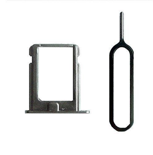 Sim Halter für iPhone 4 und 4S in silber mit Nadel - Dealbude24