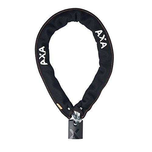 AXA 5011544 Ketting met diefstalbeveiliging, uniseks, volwassenen, zwart