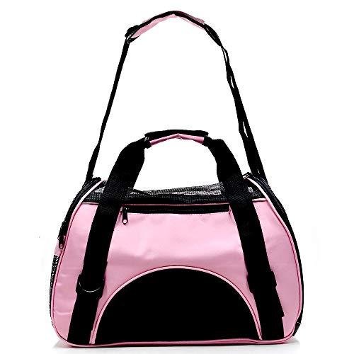 YUJINLE-EU Haustier-Reise-Schultertasche, atmungsaktiv, Netzstoff, Haustier-Rucksack, multifunktional, tragbare Haustier-Tasche. Transporttasche für Haustiere