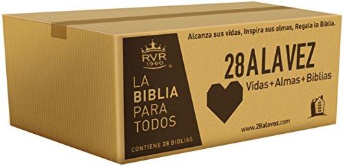 Compare Textbook Prices for RVR60-Santa Biblia - Edición económica / Paquete de 28 Spanish Edition  ISBN 9780718096229 by RVR 1960- Reina Valera 1960