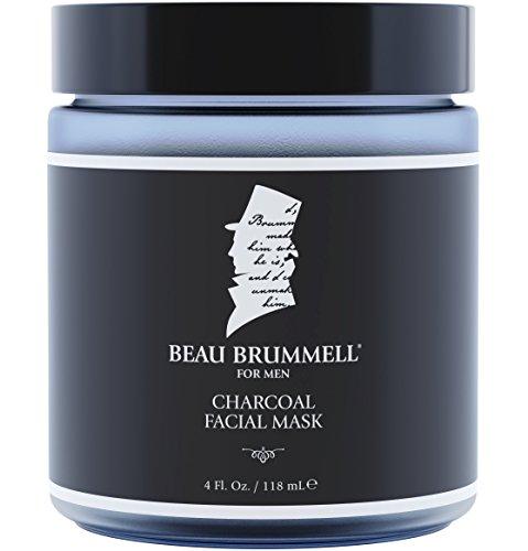 Men's Face Mask by Beau Brummell for Men | Best Charcoal Mask for Men | Detoxifying Facial...
