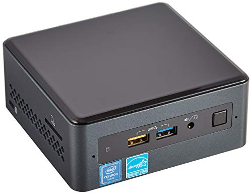 Intel NUC Mini PC (Intel Celeron J4005/4GB DDR4/32GB eMMC/Windows 10 64 Bit), BOXNUC7CJYSAL