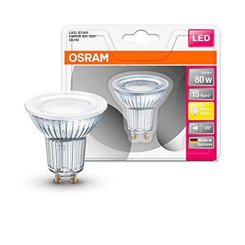 Osram ST PAR 16 Lampada LED GU10, 6.9 W, Luce Calda, 1 Lamp