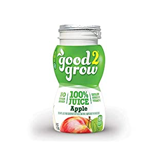 good2grow 100% Apple Juice Refill, 24-pack of 6-Ounce BPA-Free Juice Bottles, Non-GMO with No Added Sugar, for use with… |