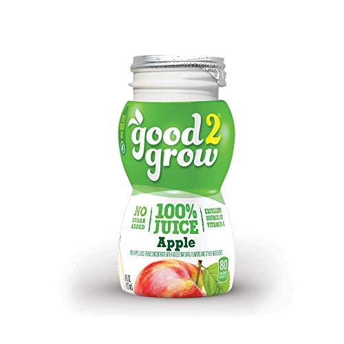 good2grow 100% Apple Juice Refill, 24-pack of 6-Ounce...