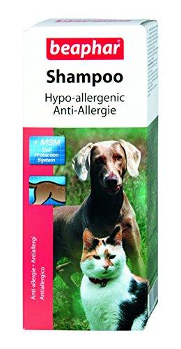 Beaphar Anti-Allergie Shampoo mit MSM für Hunde und Katzen, 200 ml