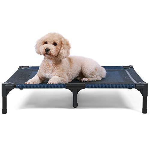 ANWA Cama elevada para perro de gran tamaño, cama elevada para perro...