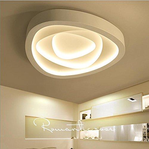 Lilamins Luces LED Lámpara de techo dormitorio techo personalidad Light-Artistic creatividad cálido...
