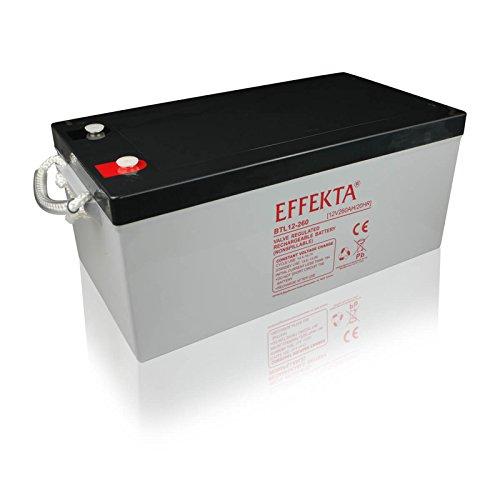 Effekta Blei-Vlies Qualitäts-Batterie BTL 12-260