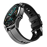 NotoCity Correa Conpatible con Huawei Watch GT 2 /Huawei Watch GT/Watch GT Active,22mm Pulsera de Repuesto de Silicona Correa...