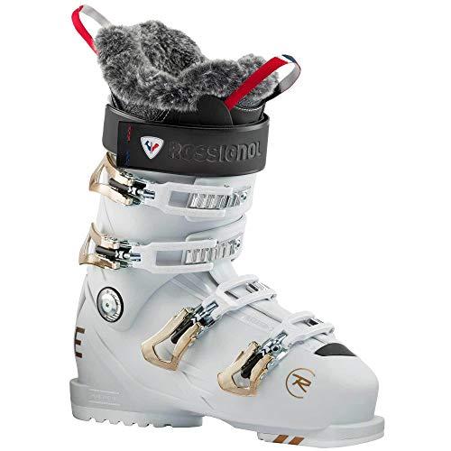 Rossignol Pure Pro 90 Damen Skischuhe, White Grey, 24.0