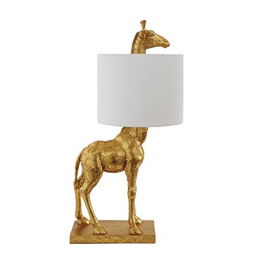 Creative Co-Op DA7565 Table Lamp, Gold Giraffe