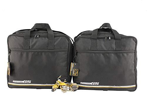made4bikers Promotion: Borse interne per valigie moto adatte per modelli BMW Adventure R1250GS (K51) dal 2018 (R1250 GS) - per valigie in alluminio