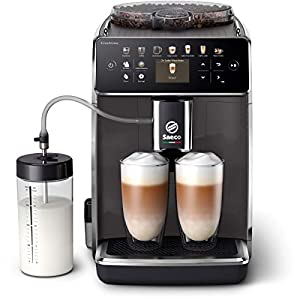Philips Saeco adecuadaAroma Cafetera espresso totalmente automática SM6580/10, Personaliza fácilmente tu café con los preajustes de sabor