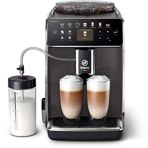 Philips Saeco adecuadaAroma Cafetera espresso totalmente automática SM6580/10, Personaliza fácilmente tu café con los...