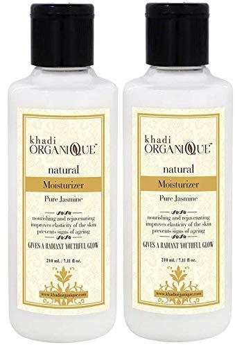Glamorous Hub Khadi Organique Pure Jasmine Moisturizer Pack Of 2 (L'imballaggio può variare)