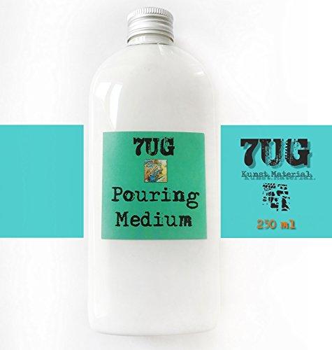 7UG Pouring Medium für faszinierende Zellstrukturen, Pouring Technik, Maltechnik, Gießtechnik, Acrylic Fluid Technique