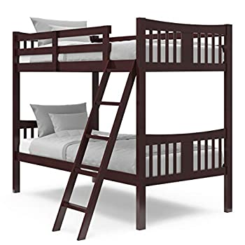 Stork Craft Espresso Twin Bunk Bed