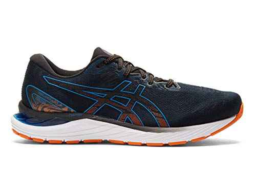 ASICS Men's Gel-Cumulus 23 Running Shoes, 8M, Black/Reborn Blue