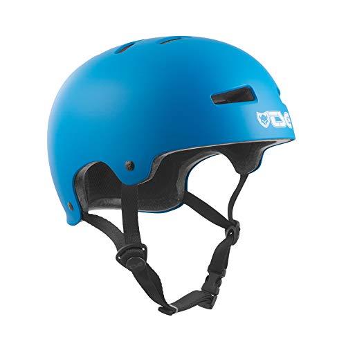 TSG Helm Evolution Solid Color, Satin Dark Cyan, S/M