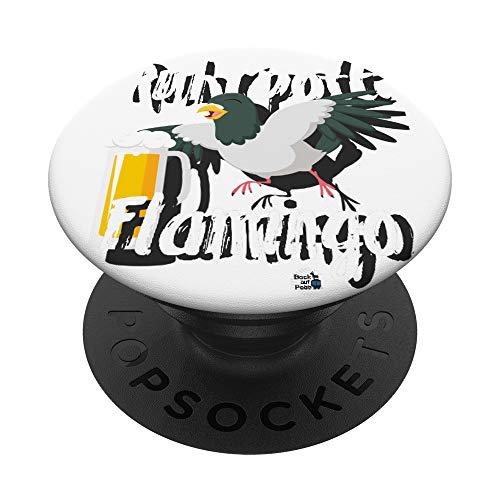 Ruhrgebiet Design Ruhrpott Flamingo Bier lustig Geschenk - PopSockets Ausziehbarer Sockel und Griff für Smartphones und Tablets