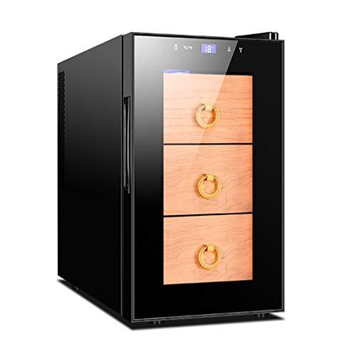Armadio per Sigari A Temperatura Costante Intelligente Piccolo Humidor per Sigari Elettronici Frigorifero per Sigari da Ufficio Scatola per Sigari Piccola per Uso Domestico
