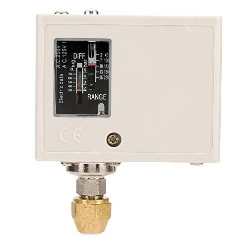 Drukschakelaar - drukregelaar voor waterpomp, luchtcompressor, boiler, koude luchtpomp droogmiddel 24 V ~ 380 V
