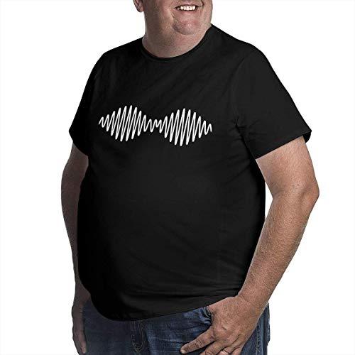 Hunter qiang Camiseta Suave para Hombre Arctic Monkeys Am Big Size Negro, L