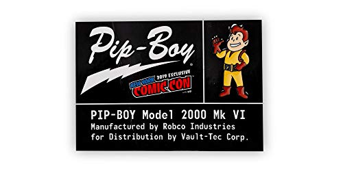 Just Funky Fallout Pip-Boy Original Character Pin | Exclusive Retro Enamel Collector Pin
