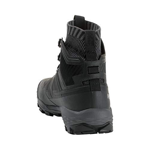 Mammut Ducan Knit High GTX Hiking Boot - Men's Black/Titanium, 13.5