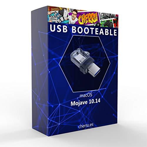 Cherru - macOS Mojave 10.14 - Unidad Flash USB booteable para Instalar OS X