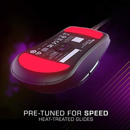Roccat Burst Pro – Extrem leichte Optical Pro Gaming Maus (hohe Präzision, Optischer Owl-Eye Sensor (100 bis 16.000 Dpi), RGB AIMO LED Beleuchtung, 68g leicht, Designt in Deutschland), schwarz - 3