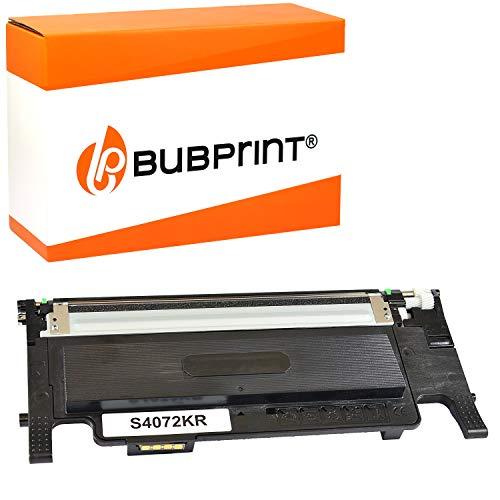 Bubprint Toner kompatibel für Samsung CLT-K4072S für CLP-320 CLP-320N CLP-325 CLP-325N CLP-325W CLX-3180 CLX-3185 CLX-3185FN CLX-3185FW CLX-3185N CLX-3185W Schwarz