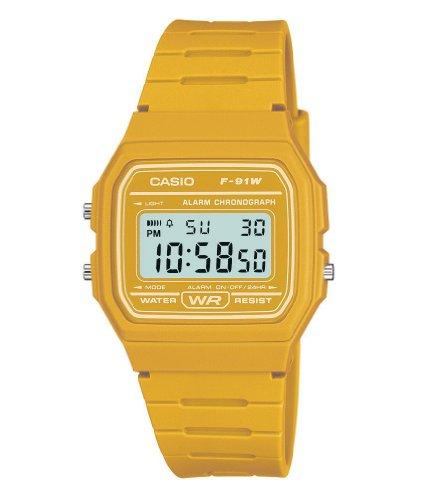 Reloj Casio amarillo para Hombre Diseño Vintage