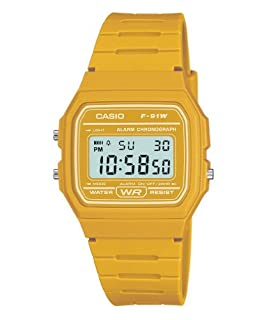 Casio Men's Yellow Digital Watch with Resin Strap F-91WC-9AEF (B0042SI594) | Amazon price tracker / tracking, Amazon price history charts, Amazon price watches, Amazon price drop alerts