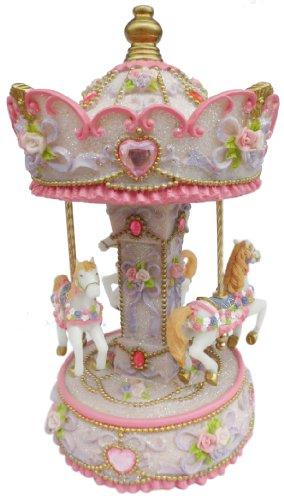 Musicbox World 14233 Carrousel Musique Valse de carrousel 230 mm