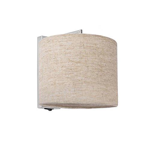 Faro Barcelona 62705 - SAHARA Lampe applique chrome/lin