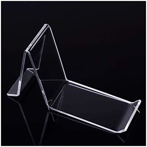 GFPR Klar Acryl Display-ständer Desktop Mall Shop Schuh Modell Rack Ausstellungsstände 160 * 42 * 95mm