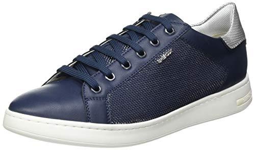 Geox D Jaysen B, Zapatillas Mujer, Azul Marino, 38 EU