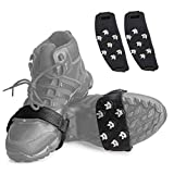COVID-19 アイゼン 靴用滑り止め KN95 靴底用 7本爪 軽量 PMDA 簡単装着 クイックフィット スノー FDA 登山 通勤 通学 凍結道路 雪 対策 多種靴適応 かんじきN95