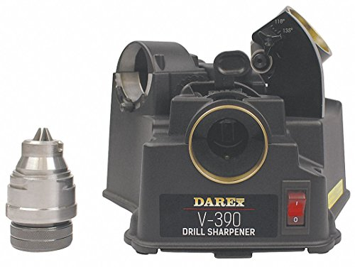 DAREX Drill Bit Sharpener - Model : V390 Capacity: 1/8'...