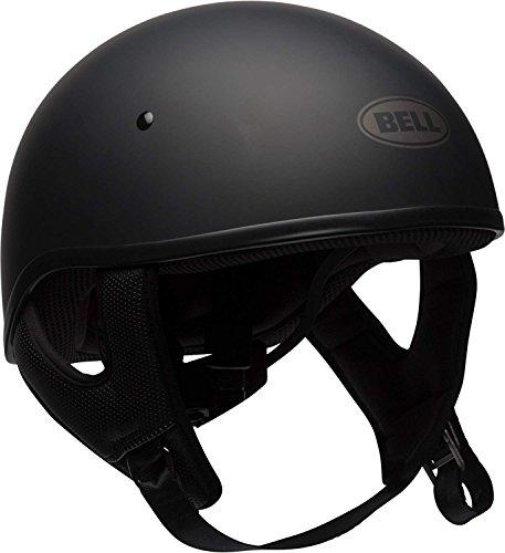 "Bell Pit Boss ""Sport"" Unisex-Adult Half Street Helmet (Solid Matte Black, Large) (D.O.T.-Certified)"