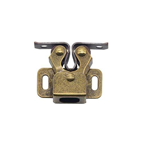 AMTXalo 1 Uds., Tope de puerta, tapones de cierre, amortiguador, amortiguador, imán, cierres de armario para armario, herrajes para muebles