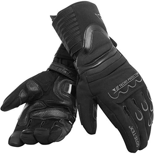 Dainese Scout 2 Unisex Gore-Tex Gloves, Guanti Moto Touring Invernali Impermeabili Compatibili Per Touch Screen, Nero, Xl