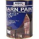 Bedec Barn Paint Matt Black 5L
