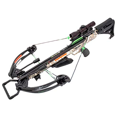 Carbon Express X-Force Piledriver 390 Badlands Camo with Crank Xbow Kit