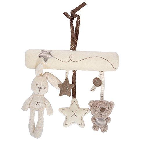 Demarkt Juguete móvil de conejo colgante para niños.