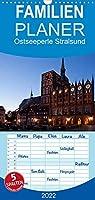 Ostseeperle Stralsund - Familienplaner hoch (Wandkalender 2022 , 21 cm x 45 cm, hoch): Stralsund - Altstadtjuwel umgeben von Perlen aus Wasser (Monatskalender, 14 Seiten )