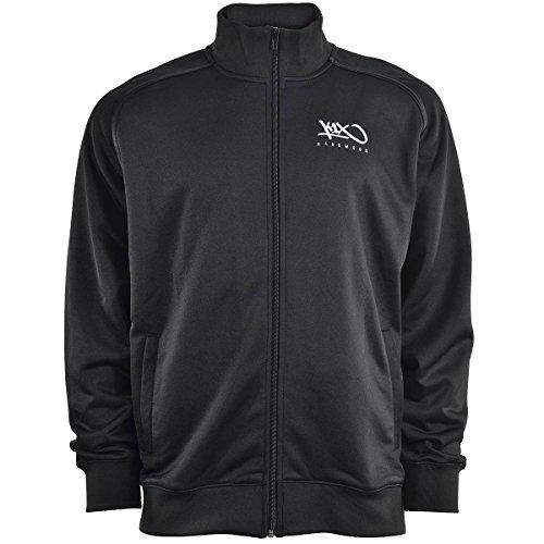 K1x Hardwood Intimidator Warm Up Jacket, Schwarz, Größe XXS
