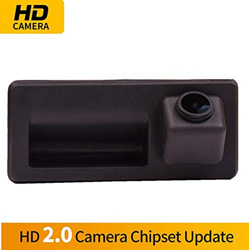 HD 1280x720p Reversing Camera Integrated in Trunk Handle Rear View Backup Camera for 2013+ Audi A3 8V, 2016+ A4 B9, A5, Q5, A6, Q7,A6 (C7), A7 (C7), A8 Allroad with MIB (MMI) Radio